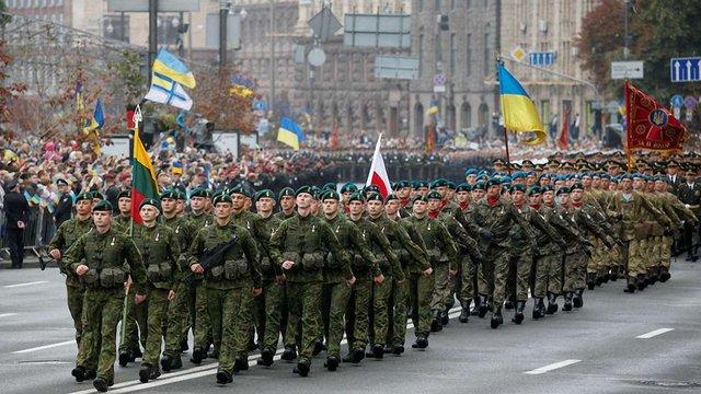 Міністр оборони анонсував участь військ НАТО у параді до Дня Незалежності в Києві
