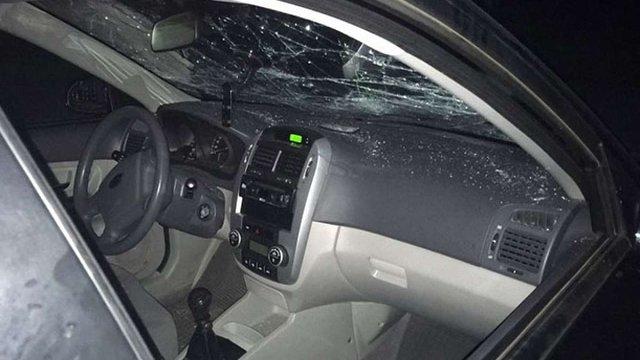 На білоруському кордоні нетверезий водій протаранив шлагбаум і був затриманий прикордонниками