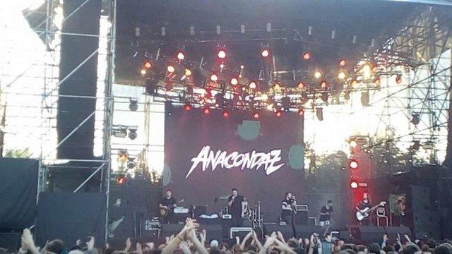 Попри гастролі в Криму, на фестивалі у Києві виступив російський гурт Anacondaz
