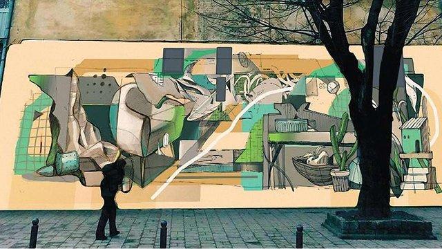 У Львові збирають гроші на  мурал у центрі міста