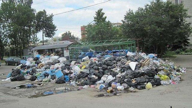 Із 265 переповнених сміттям майданчиків майже половина розташовані на Сихові