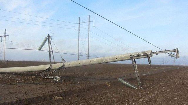 Через ДТП у Ходорові 150 будинків залишилися без світла