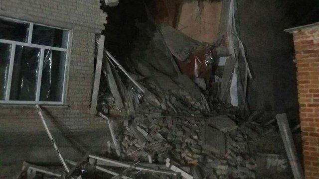 У Миколаївській області обвалилася будівля школи