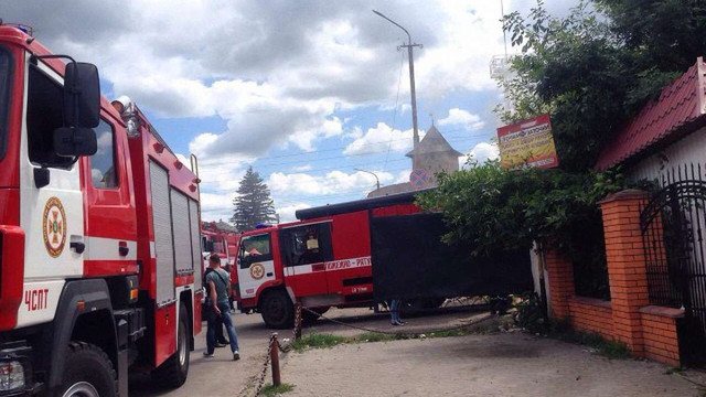 У Луцьку через пожежу знеструмлено половину міста