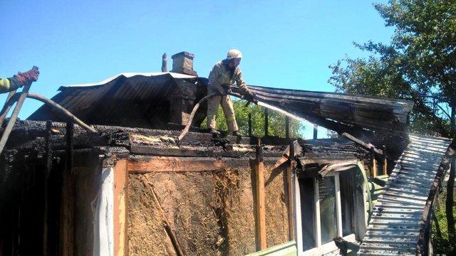 Під час пожежі на Стрийщині загинула 90-літня власниця будинку