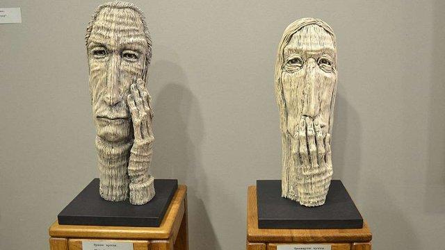 У львівській галереї сучасного мистецтва відкрилась виставка, присвячена людській голові