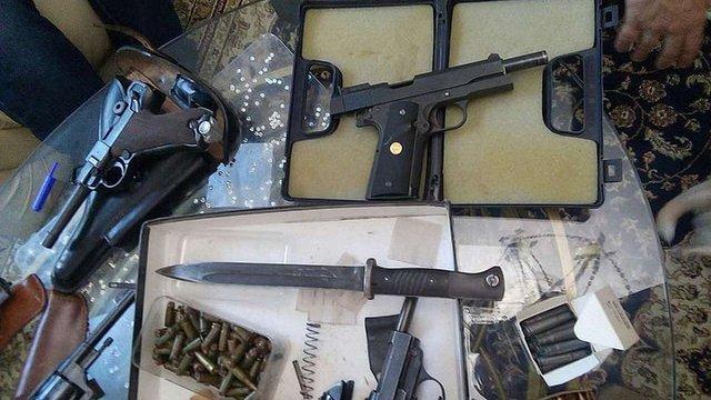 СБУ ліквідувала всеукраїнську мережу контрабанди зброї