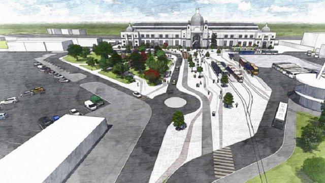 Перед львівським залізничним вокзалом змінять схему руху транспорту