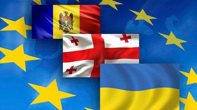 Україна, Молдова і Грузія просять Європарламент підтримати перспективу їх членства в ЄС