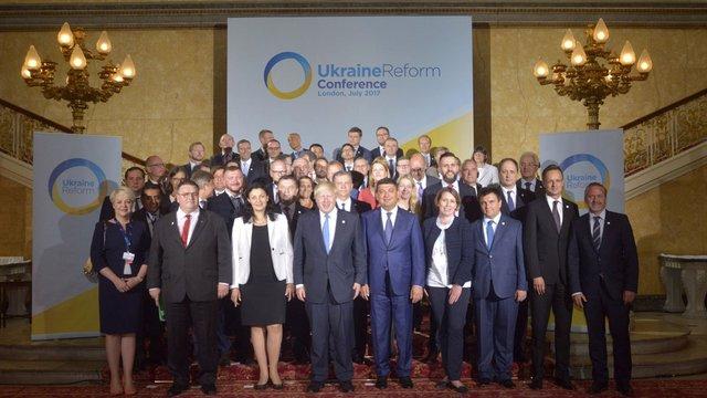 Міжнародні дипломати висловили повну політичну підтримку Україні на конференції в Лондоні