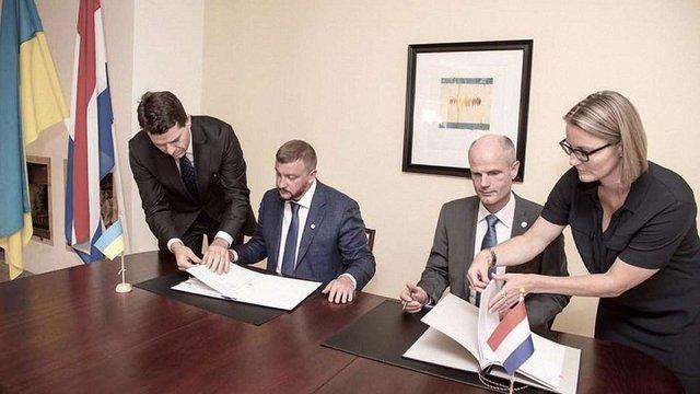 Україна та Нідерланди підписали угоду про розслідування і покарання в рамках справи MH17
