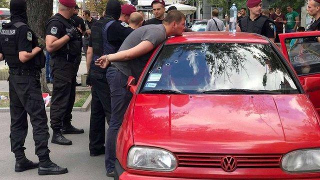 СБУ повідомила подробиці затримання провокаторів у центрі Києва