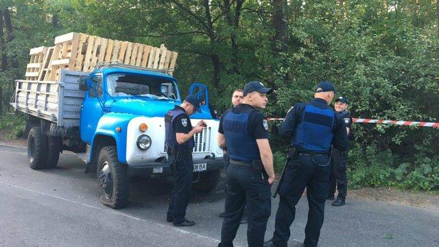 Біля Києва через вирубку лісу сталася сутичка зі стріляниною