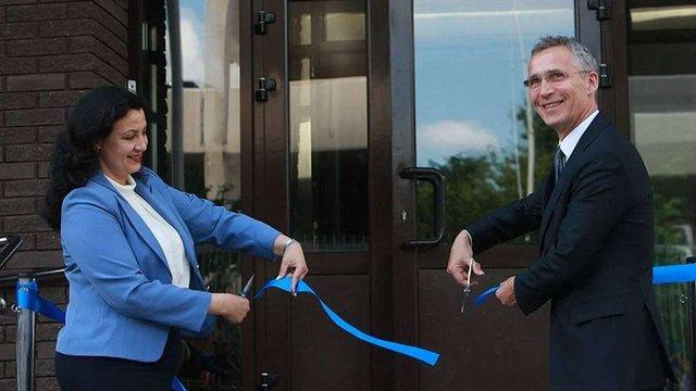 В Києві відкрили новий офіс представництва НАТО в Україні