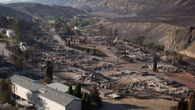 Через пожежі на заході Канади понад 14 тис. осіб залишили свої домівки