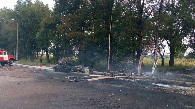 Унаслідок вибуху на АЗС на трасі Київ-Ковель загинула людина