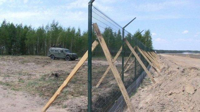 При побудові «Стіни» на кордоні з Росією вкрали ₴100 млн, – ГПУ