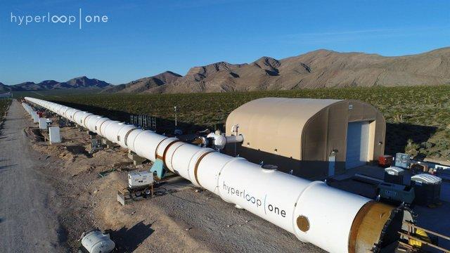 У США провели перші випробування нової транспортної системи Hyperloop