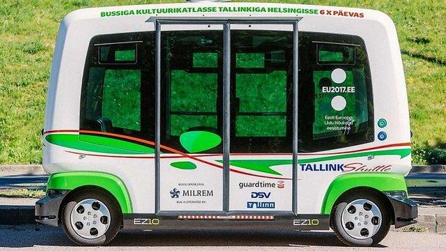 В Естонії з'являться безкоштовні самокеровані автобуси без водіїв