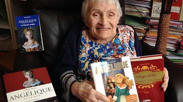 У Франції померла авторка романів про Анжеліку, письменниця Анн Голон