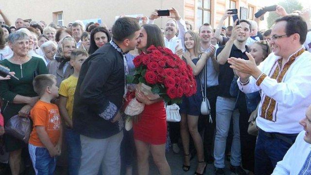 Мер Яворова освідчився під час святкування Дня міста