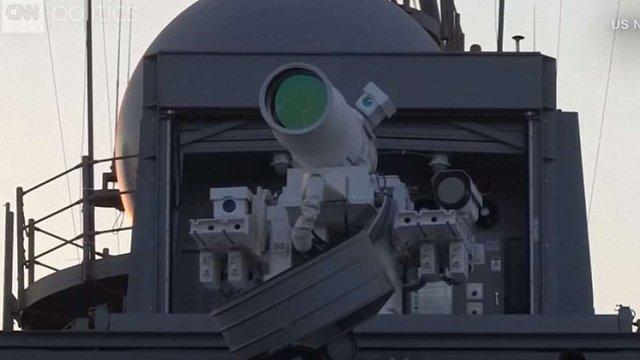 США вперше випробували лазерну зброю