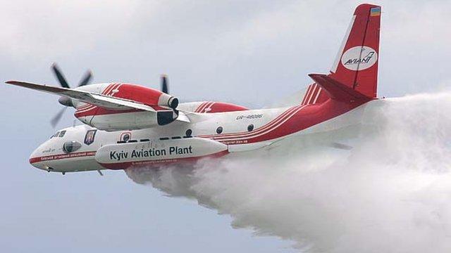 ДСНС відправила пожежний літак Ан-32 для допомоги в гасінні пожеж в Чорногорії