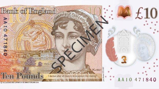 У Британії презентували нову пластикову банкноту, яка увійде в обіг з вересня 2017 року
