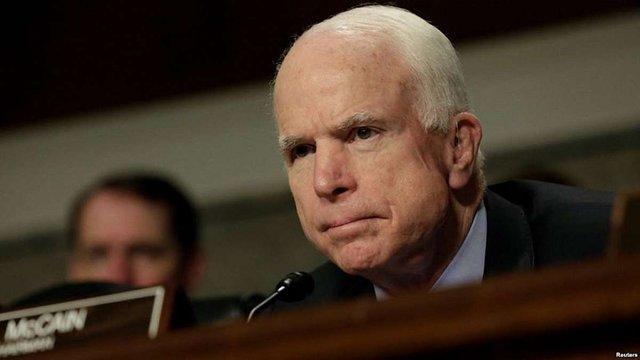 У сенатора Маккейна діагностували рак мозку