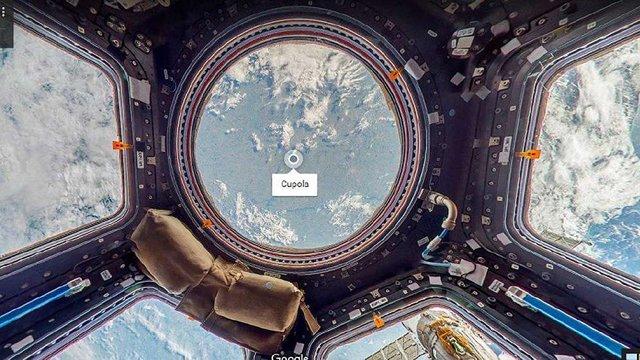 Google Earth запустив віртуальну екскурсію Міжнародною космічною станцією