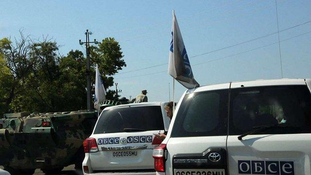 Спостерігачі ОБСЄ зафіксували на Донбасі збільшення військової техніки біля кордонів з РФ