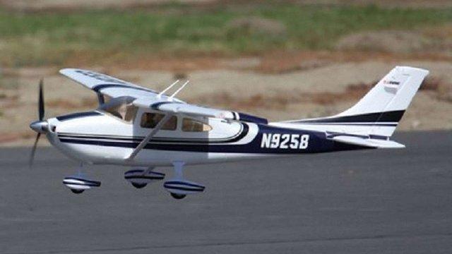 На Прикарпатті екскурсійний літак здійснив аварійну посадку на пасовище