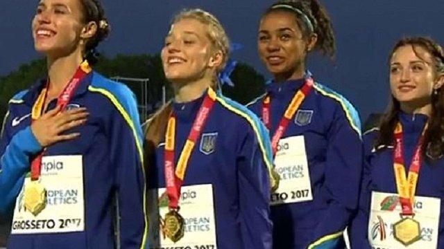 Українські легкоатлетки встановили особистий рекорд на чемпіонаті Європи U20