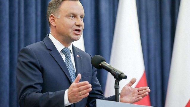 Президент Польщі заветував скандальний закон про судову реформу