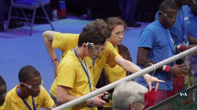 Українці увійшли до топ-20 всесвітньої олімпіади з робототехніки