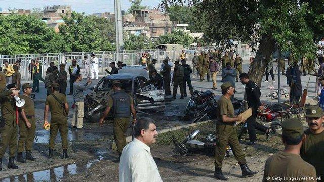 Внаслідок вибуху у Пакистані загинули щонайменше 25 людей