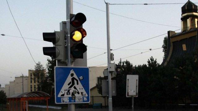 Через нічну грозу у Львові не працюють світлофори