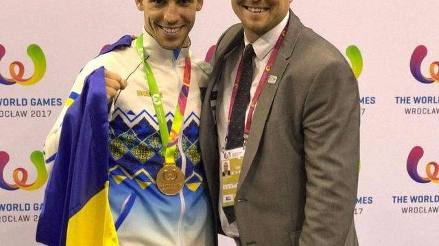 Львівський каратист Станіслав Горуна отримав золото на Всесвітніх Іграх 2017 року