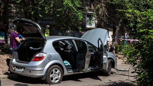 У центрі Дніпра вибухнув автомобіль, дві жінки отримали поранення