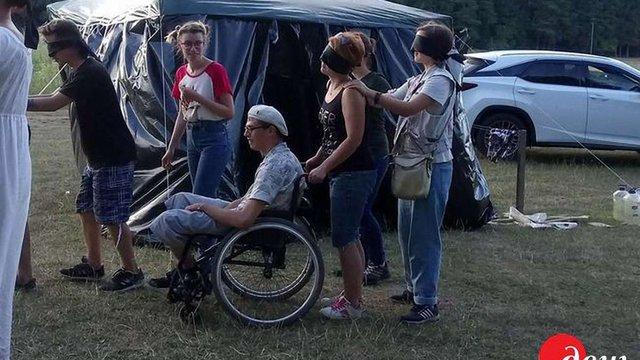 На Вінниччині розпочав роботу єдиний в Україні інклюзивний табір