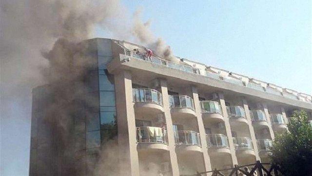 Через пожежу з готелю у Туреччині евакуювали 400 осіб