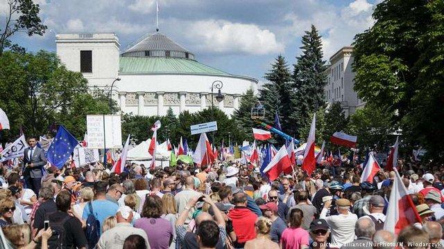 Єврокомісія відкрила адміністративну справу проти Польщі через судову реформу