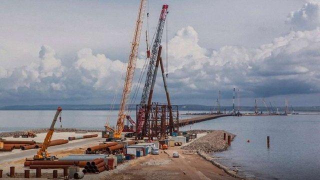 Україна подасть до суду на РФ через збитки від будівництва Керченського мосту