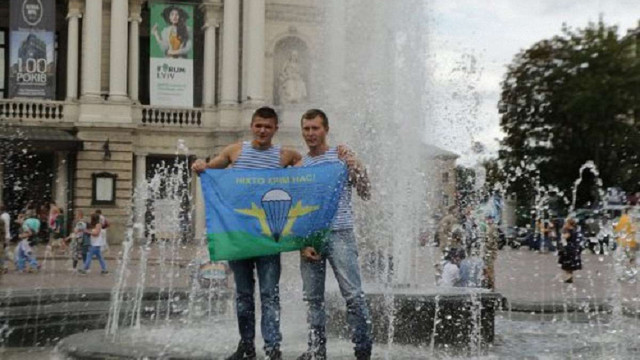 У Львові на день ВДВ не працюватиме фонтан біля Оперного театру