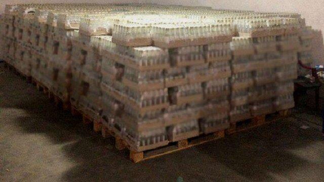 Двоє львів'ян організували масштабне виробництво фальсифікованого алкоголю