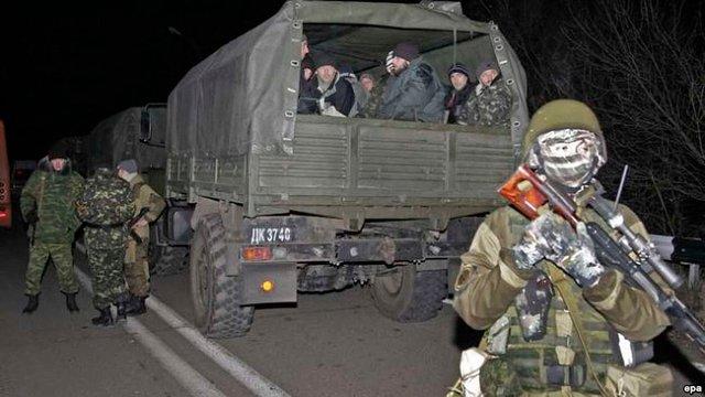 Бойовики на Донбасі вимагають обміну причетних до терактів екс-беркутівців – Геращенко