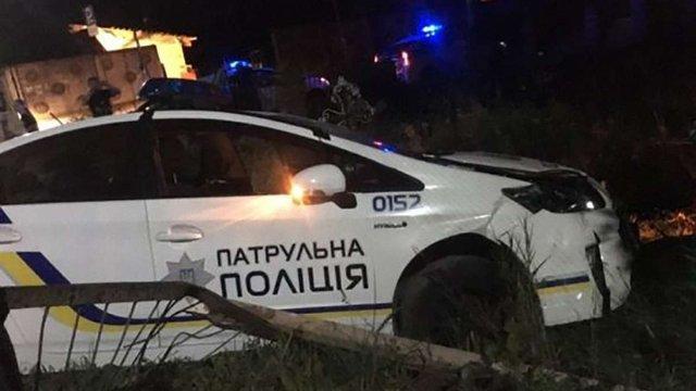 П'яний водій на Рівненщині протаранив поліцейський Prius з 4 патрульними