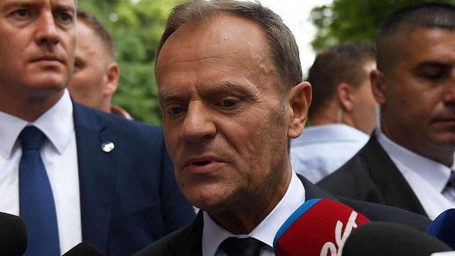 Прокуратура Польщі вісім годин допитувала голову Європейської Ради