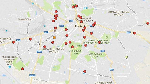 Львівська міськрада оновила карту нелегальних новобудов