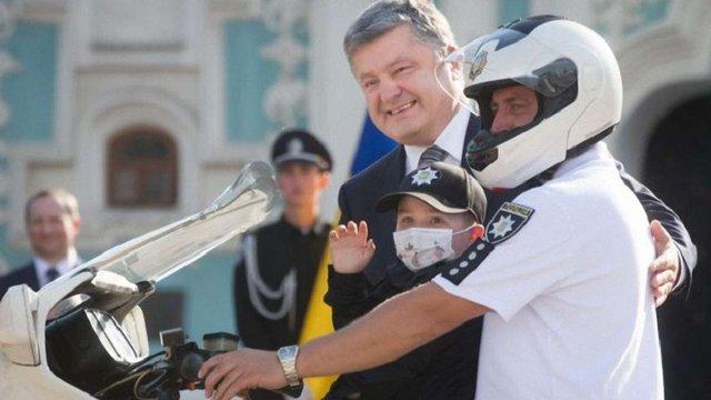 Петро Порошенко заявив, що в Україні подолано пік злочинності